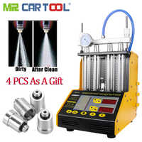 CT150 Car Fuel Injector Cleaner Flushing Machine Testers 2 IN 1 Common Rail Cleaning Injectors Fuel Nozzles Tester