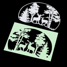 Christmas Tree Deer Metal Cutting Dies
