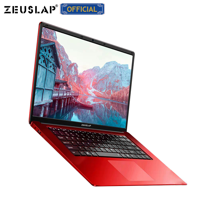 ZEUSLAP 15.6 Inch 8GB RAM 500GB/2TB HDD Notebook Intel Quad Core Laptops With FHD Display Office Ultrabook Student Computer