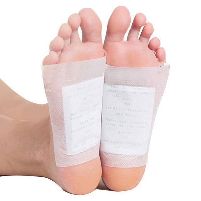 200 Uds. Parches de desintoxicación para pies Artemisia Argyi almohadillas tóxicas para pies adelgazantes limpieza Herbal para la salud del cuerpo almohadilla adhesiva para pérdida de peso