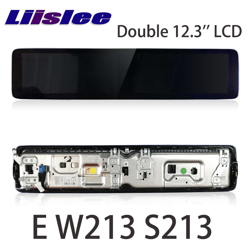 Car Digital instrumentl Audio Stereo <font><b>For</b></font> <font><b>Mercedes</b></font> Benz MB E Class W213 S213 2016~2020 Double 10.25 inch Original Style Dashboard image