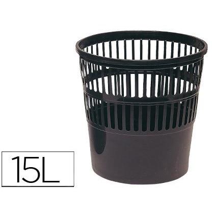 BIN PLASTICO 119 BLACK MEASUREMENT 275X275 CM
