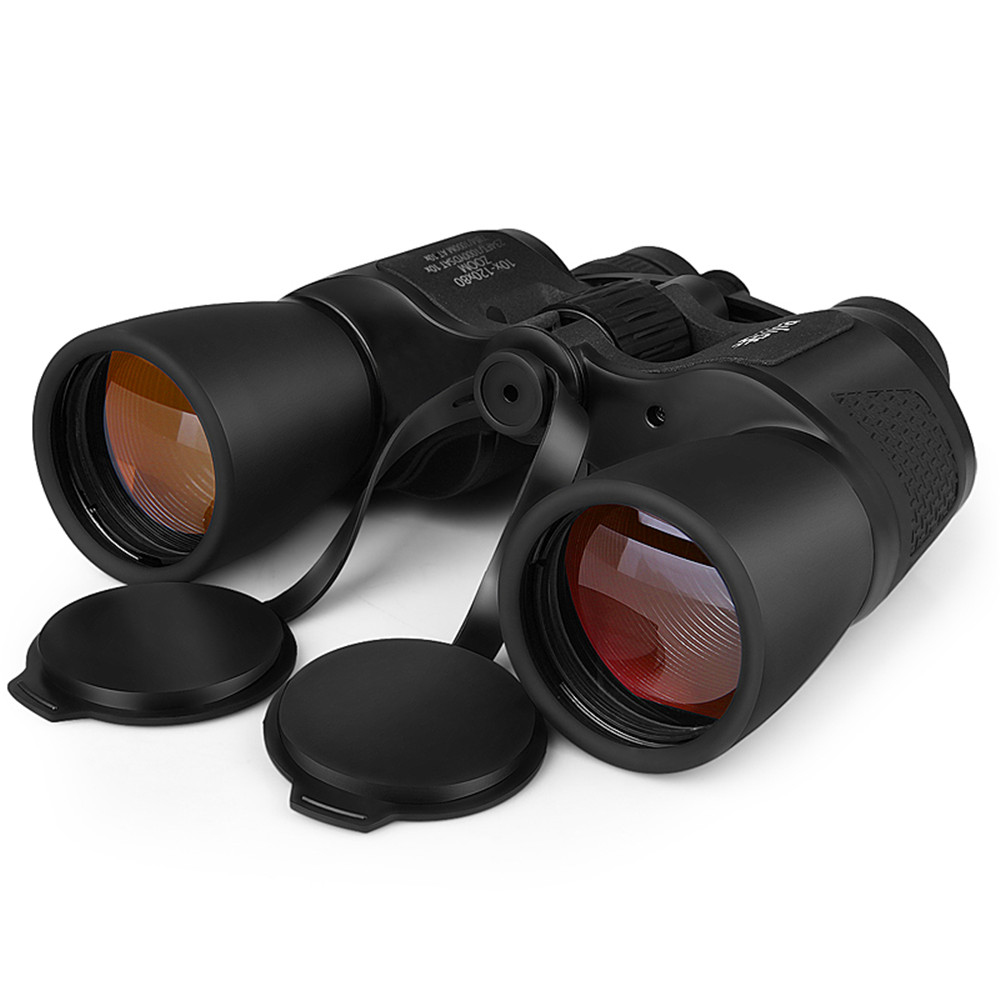 <font><b>BIJIA</b></font> <font><b>10</b></font>-<font><b>120X80</b></font> Professional Telescope High Magnification Long Range Zoom Telescope Wide Angle Binoculars Hunting Outdoor Camp image