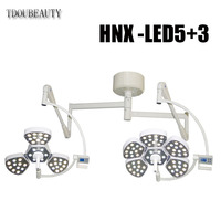 Double Head Surgical Shadowless Lamp Ceiling LED Shadowless Operating Lamp Surgical Used In Dentistry, Pets, Operating Rooms