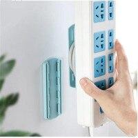 Power Board Halterung, Draht Lagerung, Wand-montiert, punch-freies Stecker Halter Selbst-adhesive Buchse, Kabel Organizer Power Board Halter