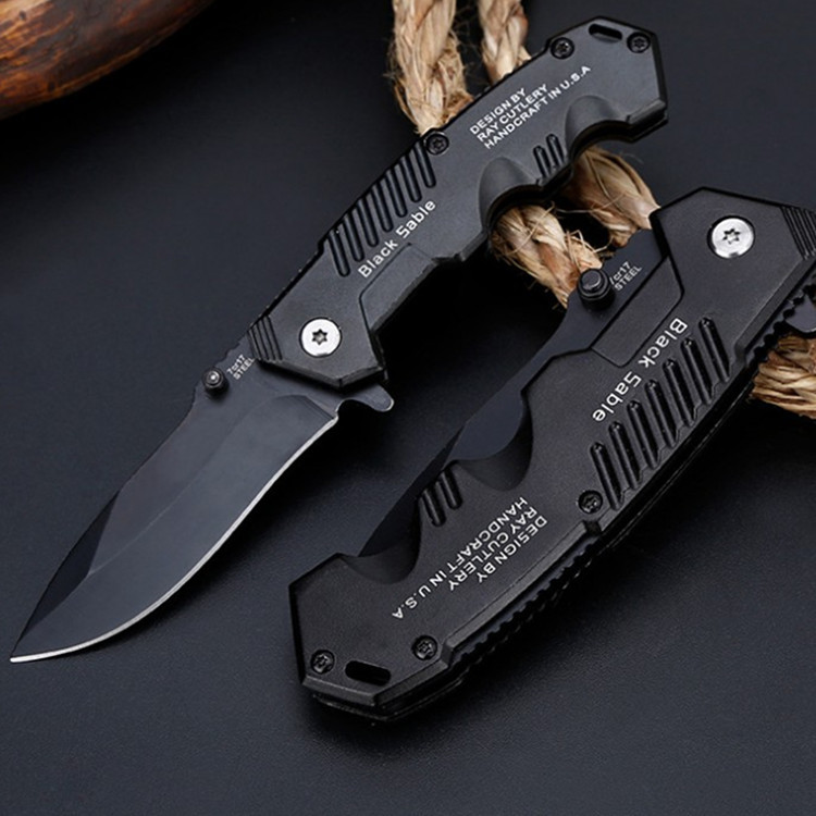57HRC Folding Knife Tactical  Survival Knives Hunting Camping Blade Edc Multi High Hardness Military Survival Knife Pocket
