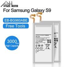 PINZHENG 3000mAh EB BG960ABE סוללה עבור סמסונג גלקסי S9 G9600 SM G960F SM G960 G960F G960 G960U G960W החלפת Bateria