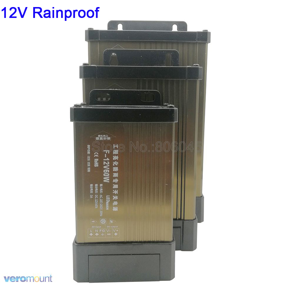 <font><b>12V</b></font> LED Lighting Transformer LED Driver AC to DC <font><b>12V</b></font> Outdoor Rainproof IP54 <font><b>Power</b></font> <font><b>Supply</b></font> <font><b>12V</b></font> 5A 8.5A 12.5A 16.5A 20A <font><b>25A</b></font> 33A 42A image