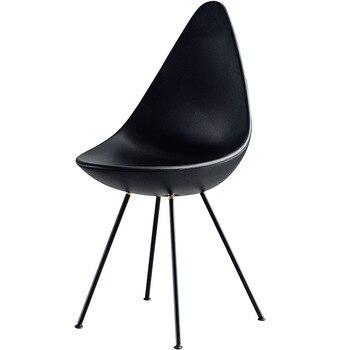 Nowoczesne INS w kształcie łzy plastikowe krzesło krzesło restauracyjne restauracja biuro spotkanie domu sypialnia nauka krzesła plastikowe