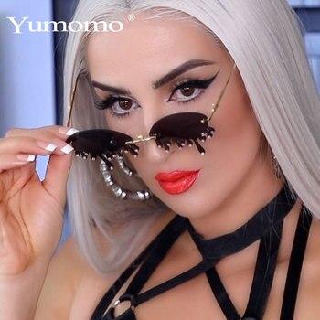 New Fashion Rimless Sunglasses Women Vintage Unique Tears Shape Steampunk Sunglasses Female Gafas Shades UV400 Oculos Feminino мужские солнцезащитные очки brand new 2015 uv400 oculos gafas feminino sg02
