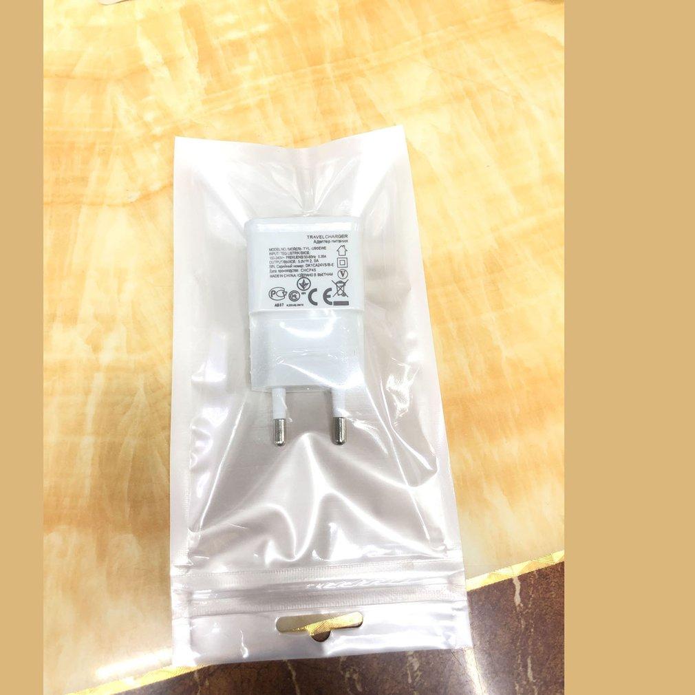 Usb Ladegerät Reise Eu-stecker 1a 2a Schnelle Lade Adapter tragbare Dual Wand ladegerät Handy kabel Für iphone Samsung