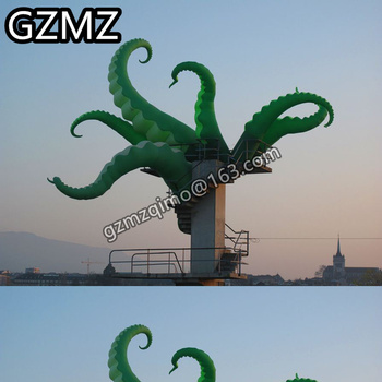 цена на MZQM Giant Inflatable Tentacles  Multi-size Decorative Inflatable Octopus Leg for Event and Show