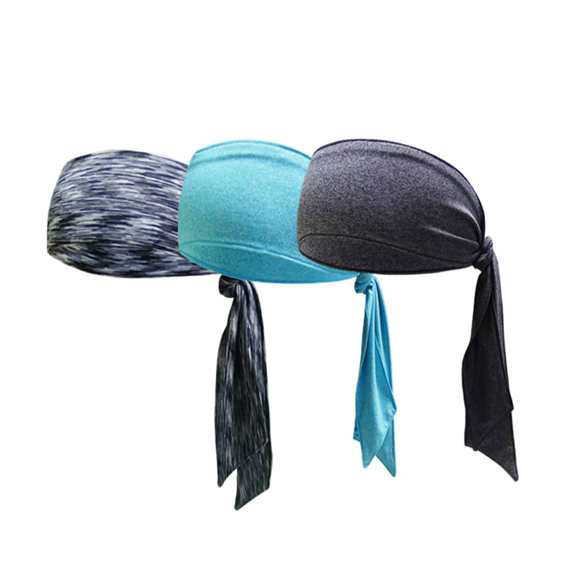 1Pc Flexible Outdoor Sport Hair Band  Fashion Unisex Headband Antiperspirant Band Workout Cycling Tennis Running Sweatband