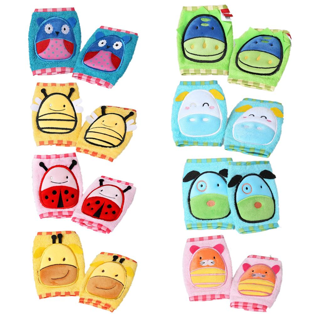 Children Adjustable Knee Pad Protective Gear Set Cute Breathable Baby Crawling Knee And Elbow Pads High-elastic EVC Thick Sponge
