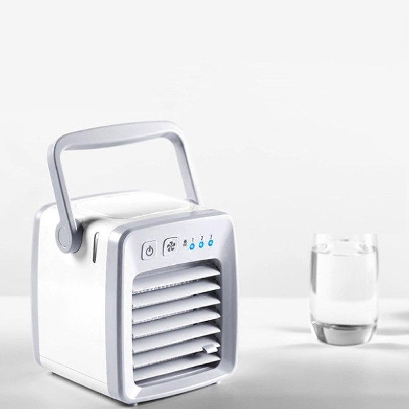 Новый USB мини-холодильное оборудование кондиционер Домашний Настольный маленький воздухоохладитель Портативный Мобильный вентилятор для