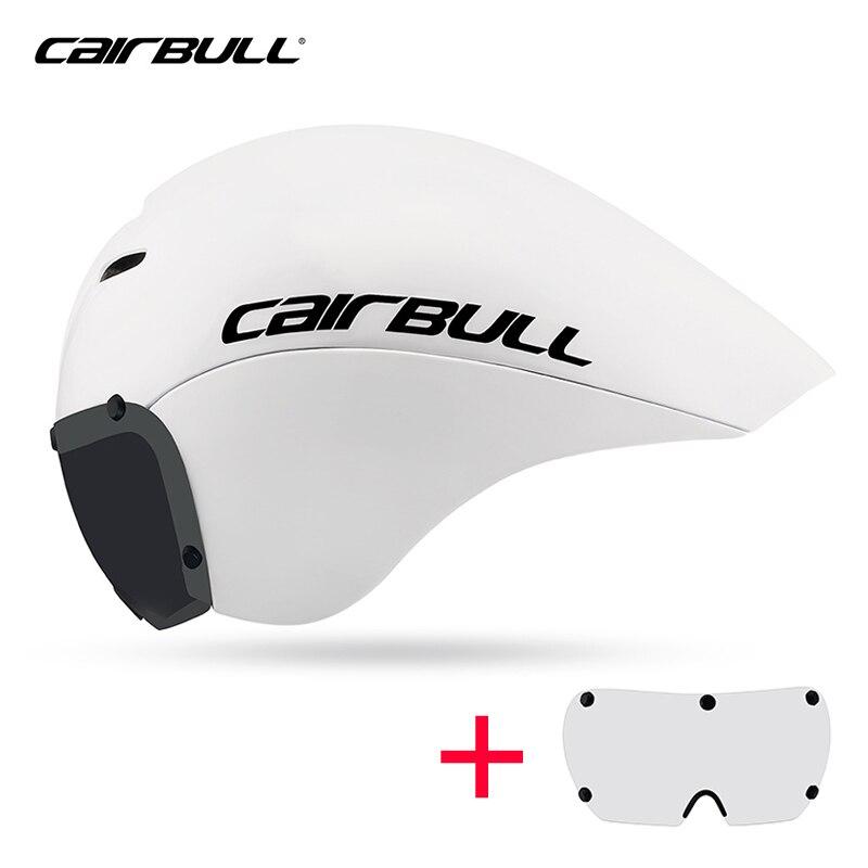 VICTOR CAIRBULL route TT casque de cyclisme site de course sur mesure casque de vélo intégral lunettes magnétiques Triathlon casque de vélo casquette