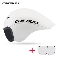 Victor cairbull estrada tt ciclismo capacete timetrial local de corrida rosto cheio capacete da bicicleta óculos magnéticos triathlon capacete da bicicleta boné
