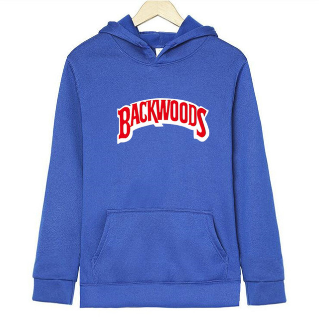 Street wear Backwoods Hoodie Stylish Hoodies Unisex color: Black black 1 Dark Gray light gray Orange Pink Red Sapphire Yellow