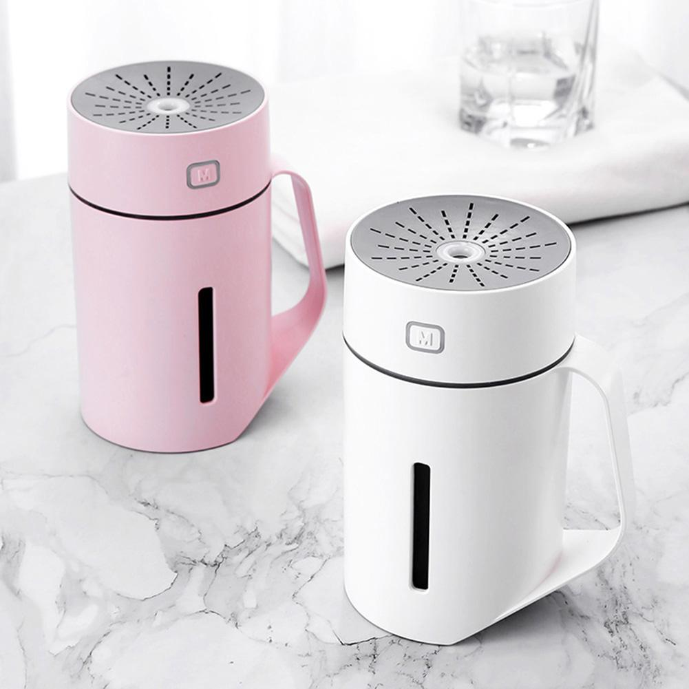 420ml Portable USB Powered Cool Mist Humidifier Air Diffuser Air Humidifier Purifier With LED Light(7 Color) Air Cooler For Home