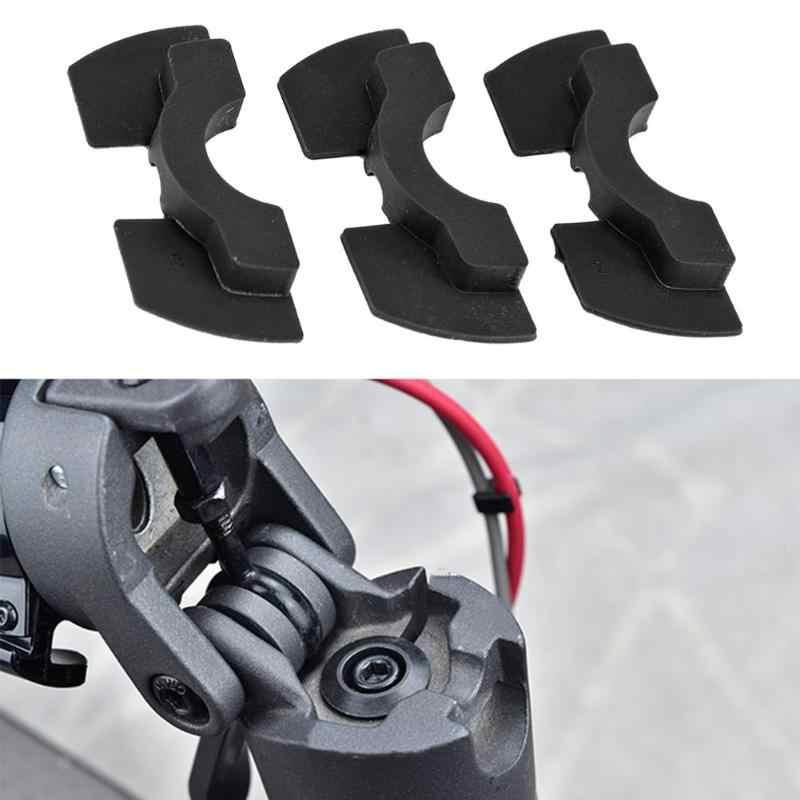 Scooter électrique modifié accessoires pôle fourche avant Vibration secousse éviter d'amortissement en caoutchouc coussin pliant pour XIAOMI M365