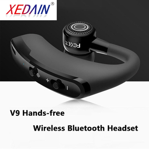 Image 2 - Bluetooth Earphone Wireless Headphone Handsfree Headset Earbud With HD Microphone For Driver Sport Phone iPhone Samsung xiaomi
