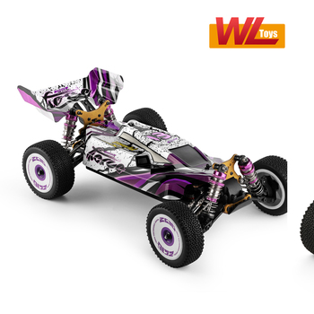 Wltoys 124019 High Speed Racing Car 60km/h 1/12 2.4GHz RC Car Off-Road Drift Car RTR 4WD Aluminum Alloy Chassis Zinc Alloy Gear 2