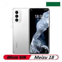 """Original Meizu 18 5G Mobile Phone Snapdragon 888 Android 10.0 6.2"""" 3200X1440 120hz 12GB RAM 256GB ROM 64.0MP 30W Super Mcharge 1"""