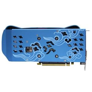 Image 4 - Yeston Radeon RX580 2048SP 8G GDDR5 CUTE PET PCI Express x16 3.0 video gaming graphics card external graphics card for desktop