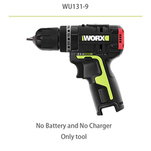 WORX 12V Brushless motor Cordless electric Screwdriver WU131 professional tool with 1 battery and 1 charger