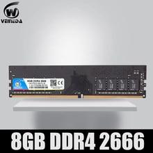 VEINEDA – mémoire de serveur d'ordinateur de bureau, modèle DDR4, capacité 4 go, fréquence d'horloge 2133, broches, Ram, Dimm