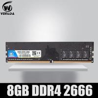 VEINEDA Ram Dimm DDR4 8GB PC4 memoria Ram ddr 4 2666, 3200mhz Intel AMD DeskPC ddr4 16 gb 288pin