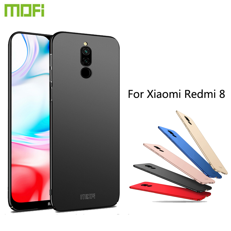 MOFi For Xiaomi Redmi <font><b>8</b></font> Cases Ultra Thin Slim Cover Case Protective Back Shell For Xiaomi Redmi <font><b>8</b></font> image