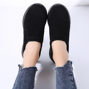 Image 3 - STQ Outono Mulheres Apartamentos Sapatas Das Senhoras Mulher Slip on Mocassins Oxfords Sapatos Flats Sapatilhas Sapatos Tenis Feminino 0731