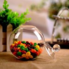 4 шт./упак. Диаметр = 15 см прозрачный Стекло крышкой Стекло ваза мясистое растение для ваза мохообразные бутылка гидропоники цветок украшение дома