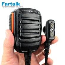 PTT Handheld Mic Microfone para HYT Hytera PD702 PD700 PD700G PD780 PD780G PD780GM SM18N2 Walkie Talkie Rádio em Dois Sentidos