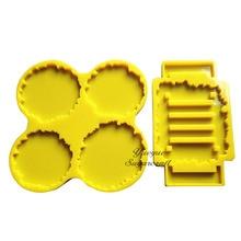 Coaster and Stand Silicone Mold Silicone Mold Silicon Resin Mold Rubber mold DIY