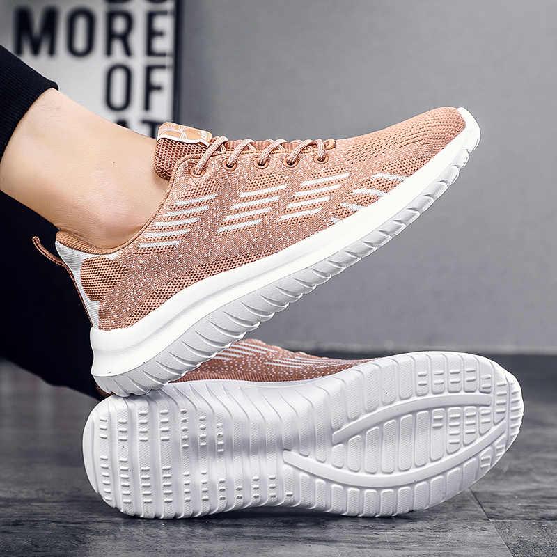2020 neue Männer Casual Schuhe Lace-Up Männer Schuhe Leichte Atmungsaktive Wanderschuhe Turnschuhe Männer Tenis Masculino Zapatillas Hombre