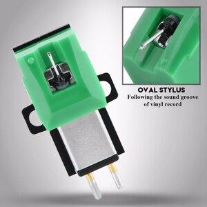 Image 5 - Gramofone antiestático de fibra carbono record player stylus 13mm pitch registro cartucho vinil stylus agulha para at95e vinil registro p