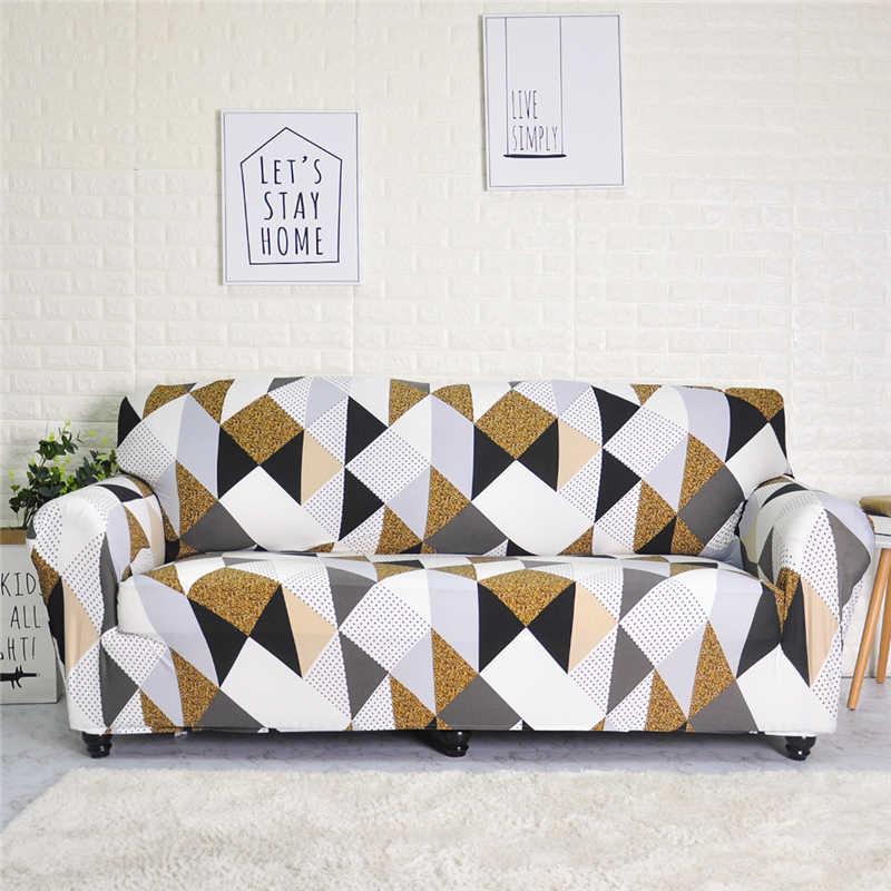 Streç Kanepe Mobilya Koruyucu Kapakları Polyester Loveseat kanepe kılıfı l 1/2/3/4-seater Kol sandalye kılıfı Oturma odası
