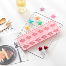 Get more info on the 12 Grid Silicone Mold Cake Decorating Tools Creative Five-pointed Star Chocolate Mould Silicone Candy Handmade Molds
