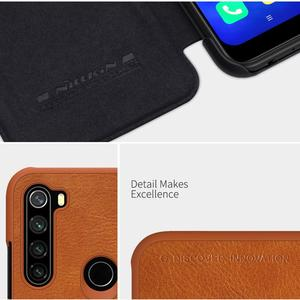Image 3 - Nillkin for Xiaomi Redmi Note 8T Case Capa Soft Genuine Leather Wallet Smart Phone Back Cover Flip Case on Redmi Note 8T Cases