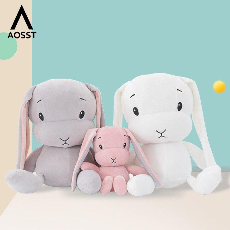 Милый мультяшный кролик плюшевые игрушки 70 см большой размер детская игрушка для