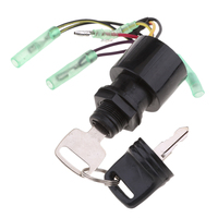 87 17009A5 Key Switch Ignition for Mariner Outboard 3 Position Push Choke