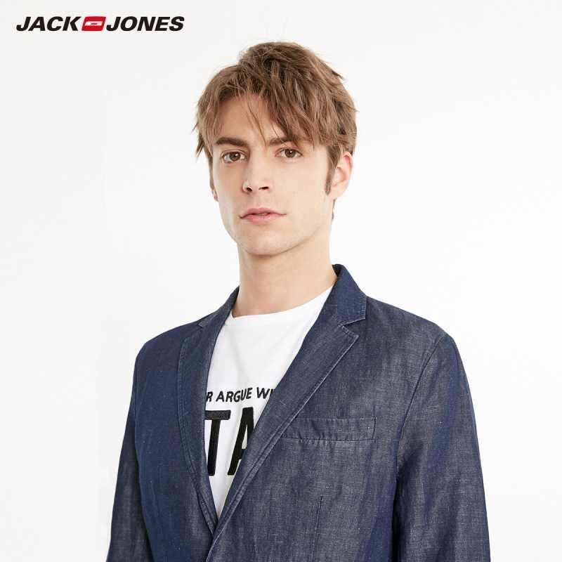 Jackjones Nam Nhiều Màu Sắc Vải Lanh Cotton Thẳng Phù Hợp Với Áo | Cơ Bản 219108516