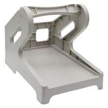 Label Holder, External Rolls and Fan-Fold Paper Holder for Desktop Thermal Label Printer