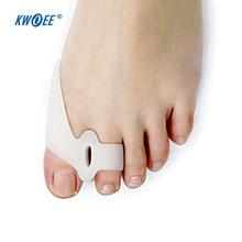 Appareil de traitement des oignons en Silicone, séparateur d'orteils, de rééducation, correcteur d'hallux Valgus, soin des pieds, 2 pièces