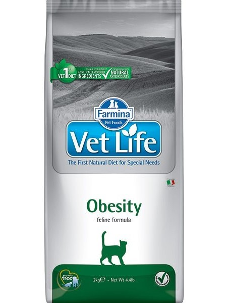 Vet Life Cat Obesity Food For Cats With Obesity, 400.