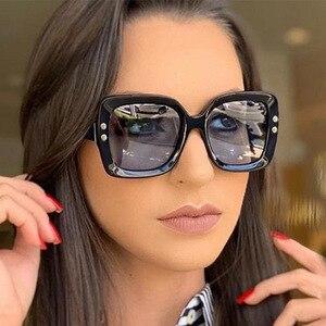Woohoo Square Retro Sunglasses Women 202