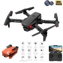 K9 Pro Mini RC Drone 4K HD Dual Camera WIFI FPV Air Pressure Altitude Hold One Key Return Home Foldable Quadcopter Kid Toys GIft