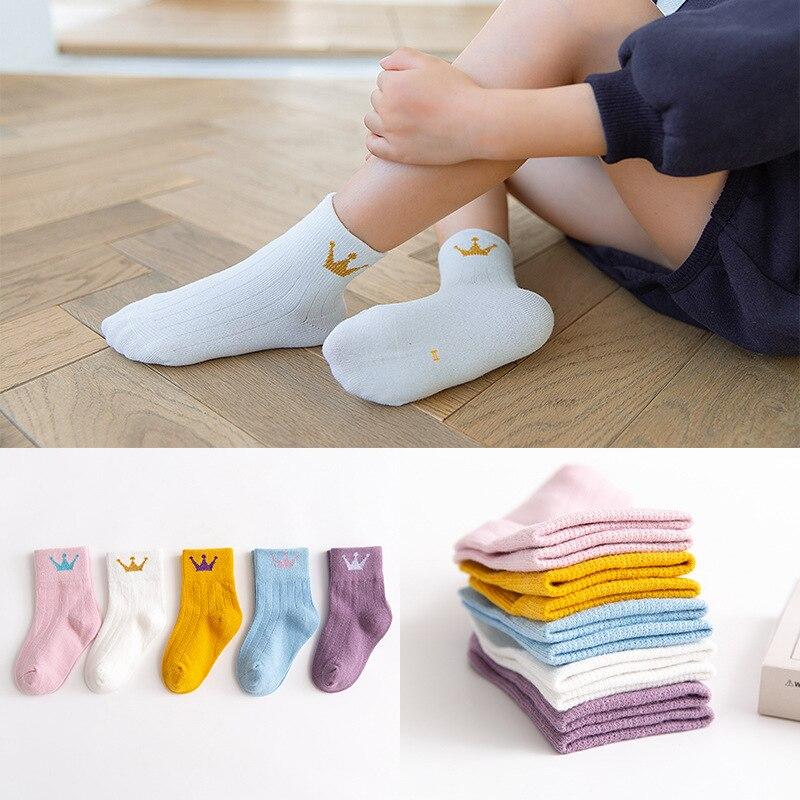 Meow Read New Style CHILDREN'S Socks Autumn And Winter Boneless Suture Men And Women Child Tube Socks Baby Socks